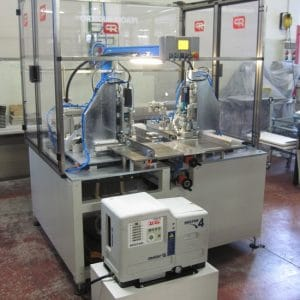 Semi Automatic Magnet Application Machine
