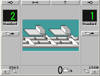 autoSET B4_Display Dokumentenstrecke